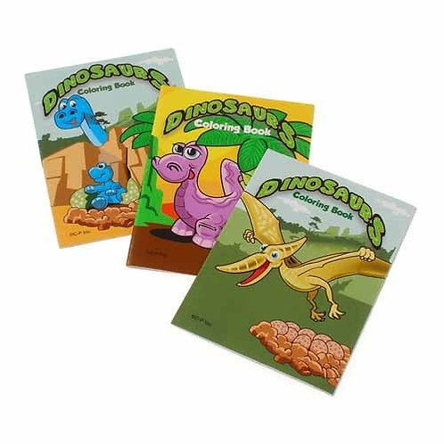 Color Books Dinosaurs 12C
