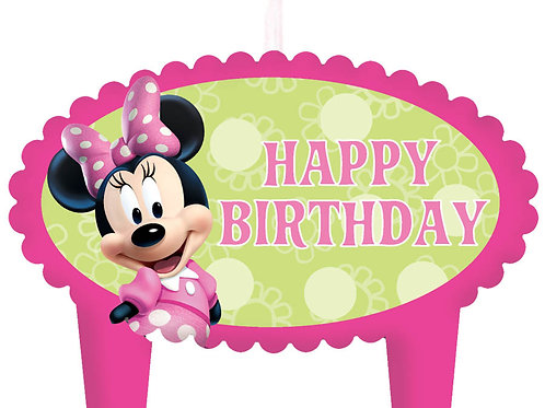 Minnie Mouse Candle Set (4Ct)