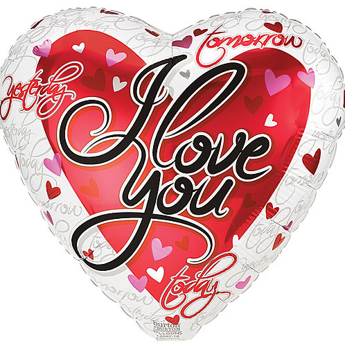 "Balloon Foil 17"" I Love You"