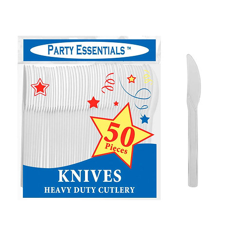 Knives - Clear 50Ct