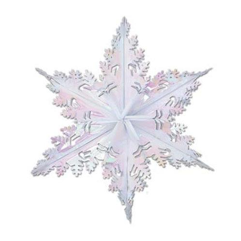 Christmas Opal Metallic Snowflake