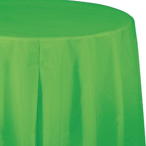"Green Citrus Tablecover 82"" Octy  Rnd"
