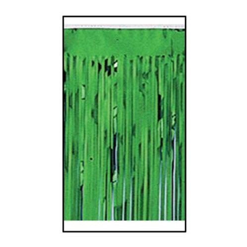 """Green Metallic Drape 15""""x10'"""