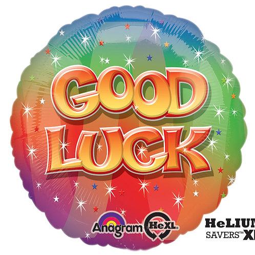 """Balloon Foil 17"""" Good Luck"""