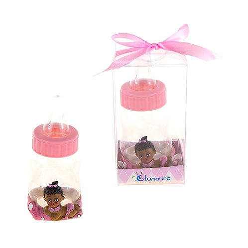 Favor Baby On Bottle Pink