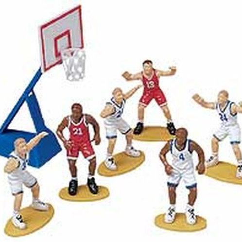 7Pc Basketball Cake Decorator