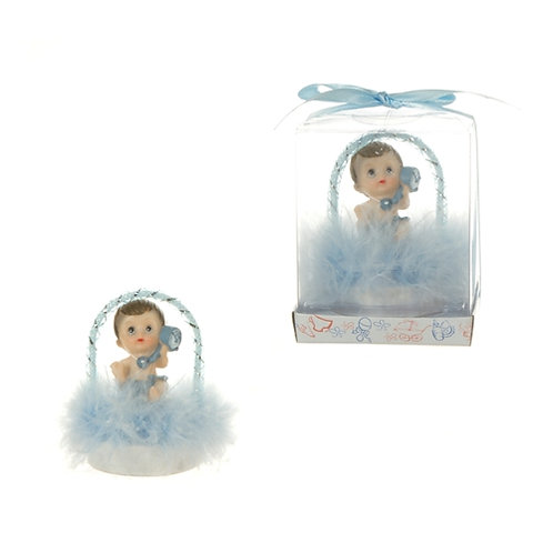 Favor Baby Arch Feather Blue
