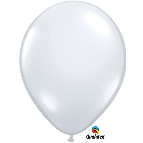 """Balloon 5"""" Diamond Clear 100C"""