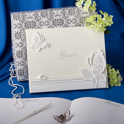 Guest Book Butterfly