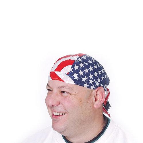Bandana Cap Patriotic 12C