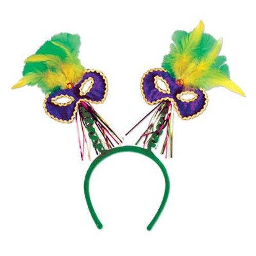 Carnival Headband Mardi Gras Bopper