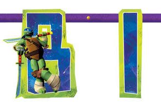 Teenage Mutant Ninja Turtle Jumbo Party Banner