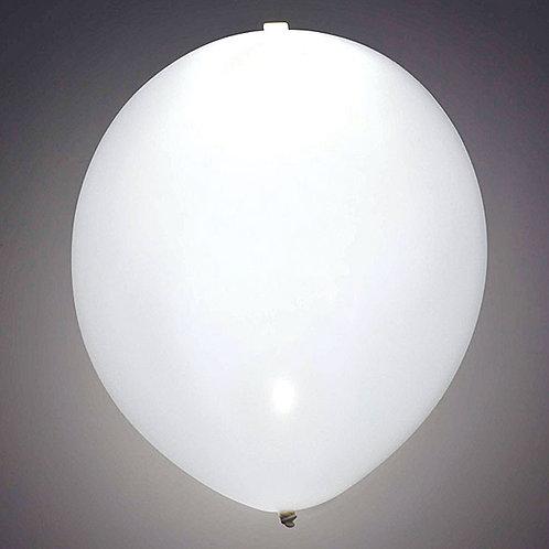 """Balloon 11"""" Led Lite White 1Ct"""