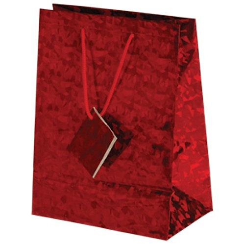 Bag Gift Medium Metallic Red