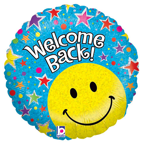 "Balloon Foil 18"" Welcome Back"