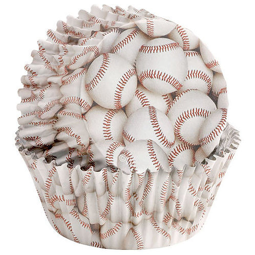 Bake Cup Baseball 36Ct
