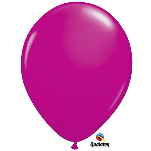 "Balloon Latex 16"" Wild Berry 50C"
