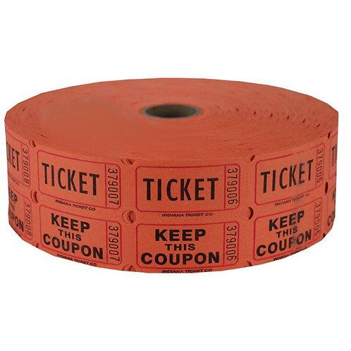 Ticket Adm2 Red 2000Ct