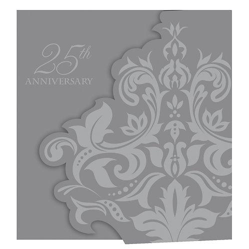 25th Anniversary Invitation 25ct