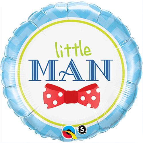 """Balloon Foil 18"""" Little Man"""