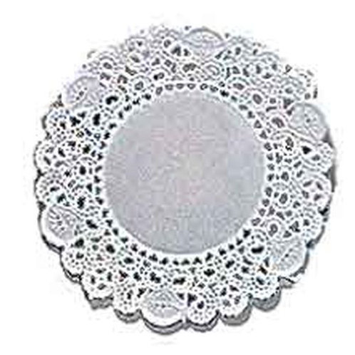 4 In Doilies White