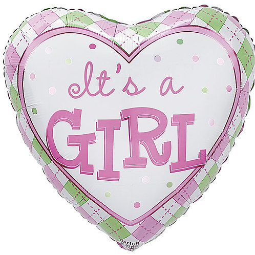"Balloon Foil 18"" It's a Girl"