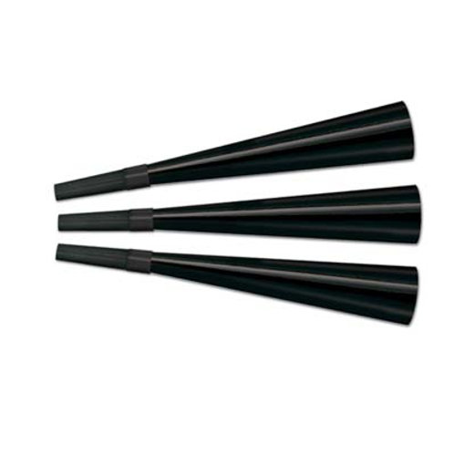 Black Foil Horns 15CT