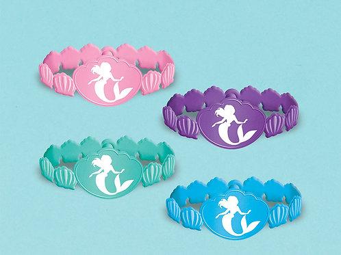 Ariel - Dream Big Rubber Bracelet (4Ct)
