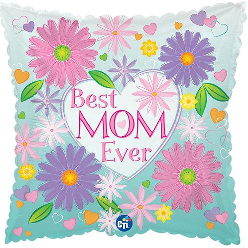 "Balloon 18"" Best Mom Ever"