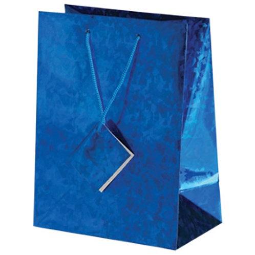 Bag Gift Large  Metallic Blue
