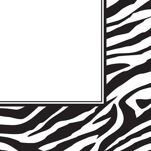 Animal Print Zebra Luncheon Napkin (16Ct)