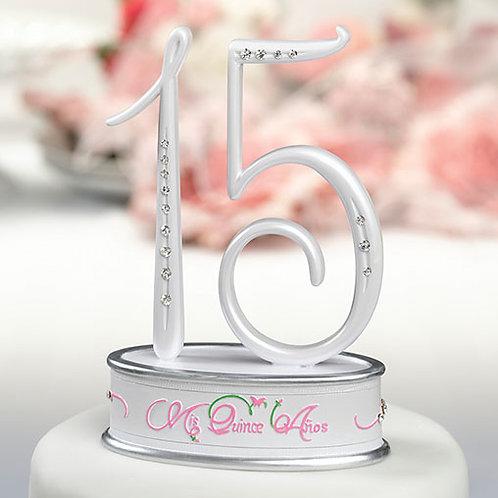 Cake Top Quincianera