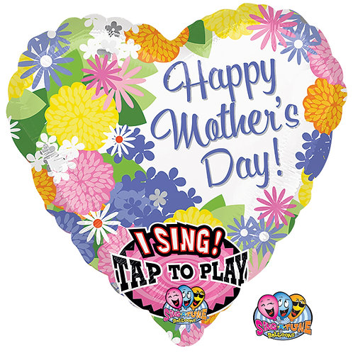 """Balloon Foil 29"""" Singing Balloon Mother's Day"""