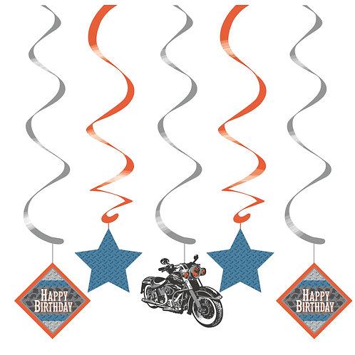 Cycle Shop Dizzy Danglers 5ct