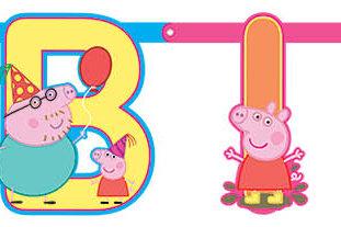Peppa Pig Customizing Banner