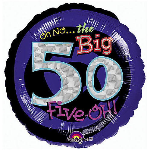 "Bal Foil 18"" The Big 50Th"