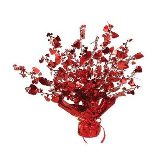 Red Heart Centerpiece