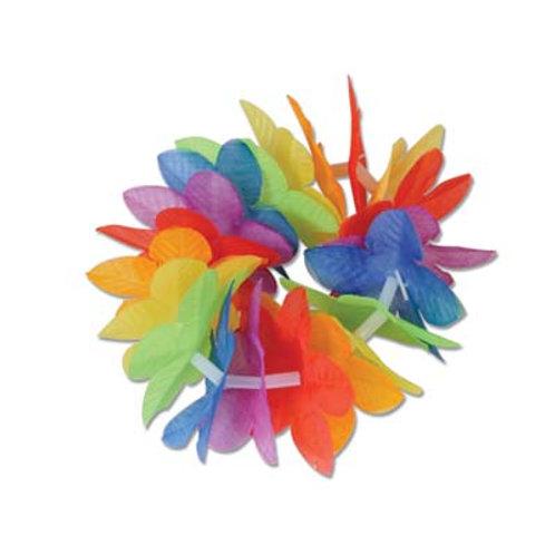 Rainbow Flower Wristlet