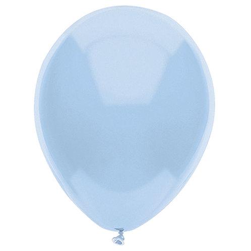"Balloon Latex 11"" Light Blue 100Ct"