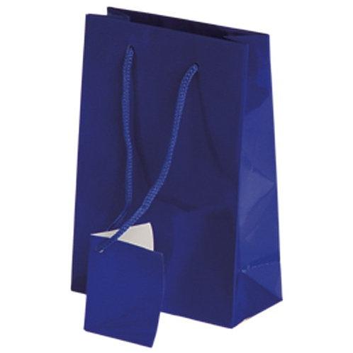 Small Gift Bag Royal Blue 12Ct