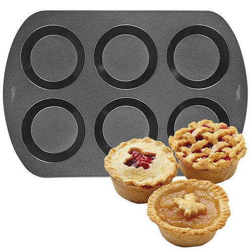 6 Cavities Mini Pie Pan