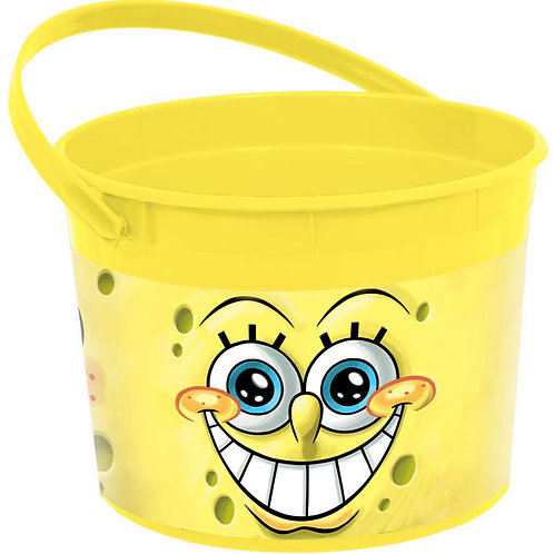 Spongebob Favor Container