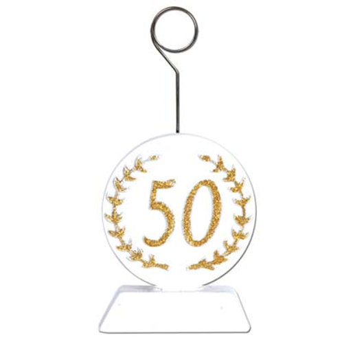50th Anniversary Balloon Holder