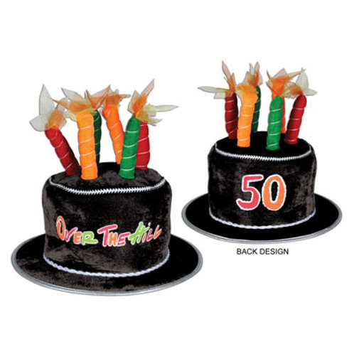 50th Birthday Over the Hill Hat