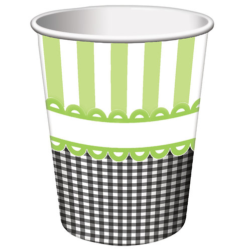 Sweet Baby Feet - Green Hot/Cold Cup 9Oz (8Ct)