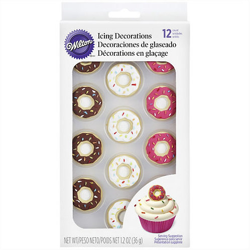 Donut Royal Icing Decorations