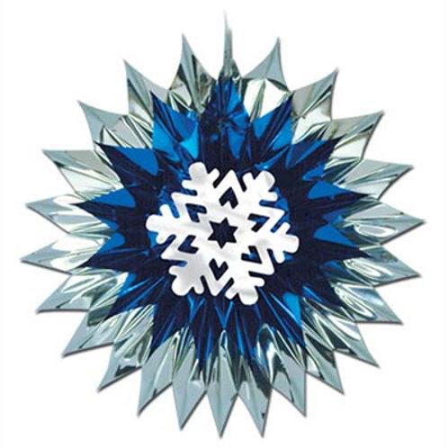 Christmas Snowflake Fan Burst