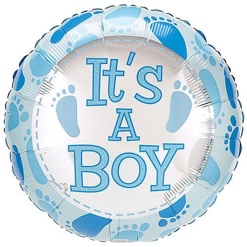"Balloon Foil 18"" Its A Boy"