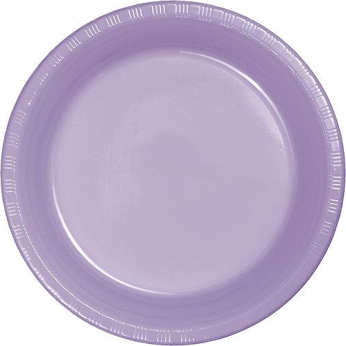 "Lavender Plate 7"""