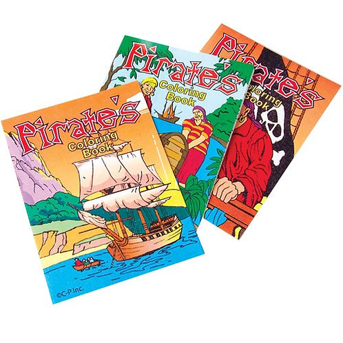 Color Books Pirate 12C
